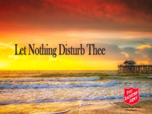 let nothing disturb thee