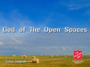 Feature Image – God Of The open Spaces