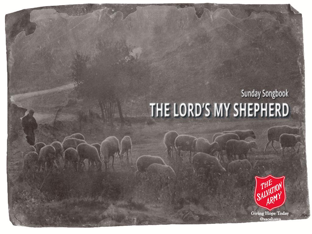 THE-LORDS-MY-SHEPHERD