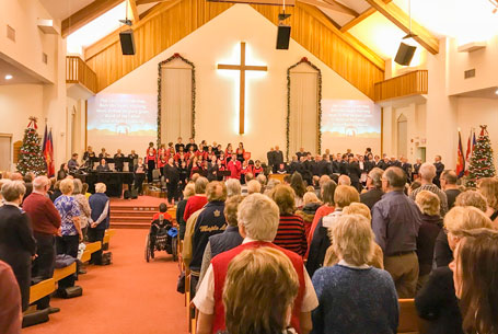 Inside our Community Church in Oshawa – The Salvation Army